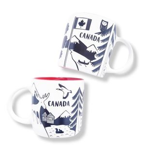 INDIGO Canadian Graphic Collectable Mug Set